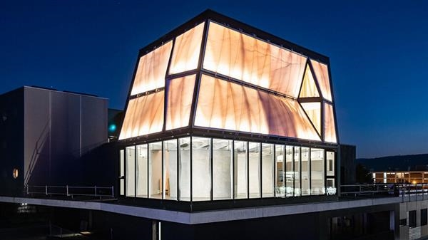 maison imprimée en 3D DFAB HOUSE