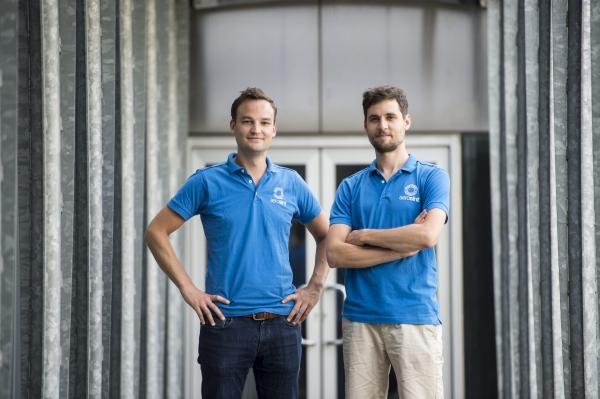 Edouard Moens et Matthias Hick