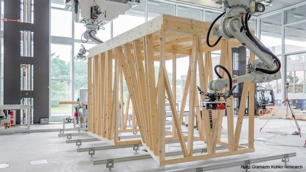 module porteur en bois