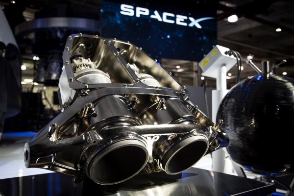 SpaceX : sa capsule spatiale équipée de moteurs imprimés en 3D
