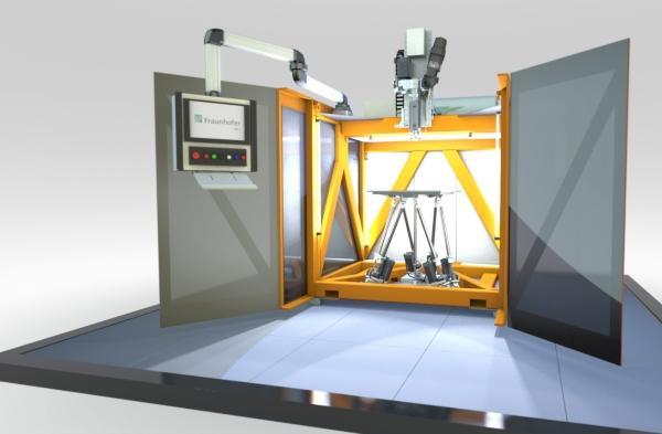 Fraunhofer dévoile un système de fabrication additive hybride à grande vitesse
