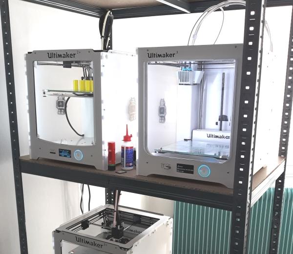 imprimante 3D Ultimaker utilisées par ADICI