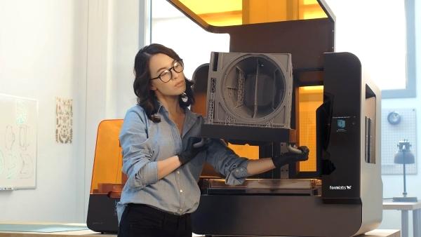 Interview Formlabs : à la découverte de ses nouvelles imprimantes 3D SLA Form 3 et 3L