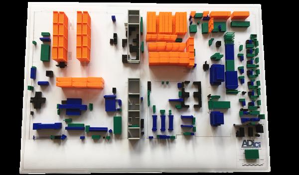 Témoignage : l'impression 3D selon ADICI pour réaliser des maquettes d'implantation