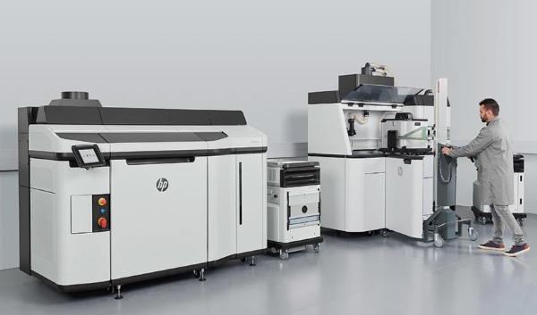 HP lance un nouveau système d'impression 3D Jet Fusion 5200 Series
