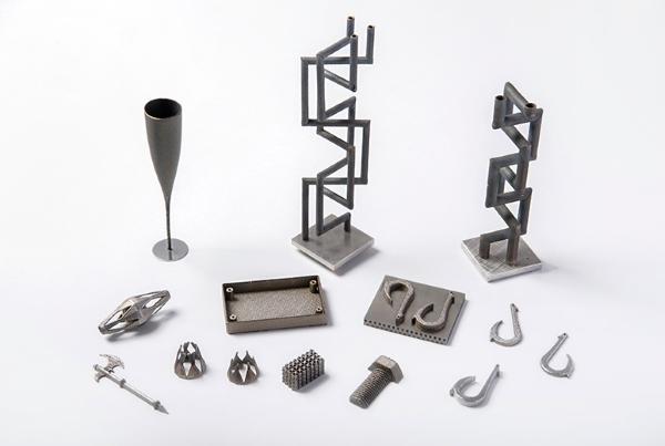 pièces imprimées en 3D avec la Lasermeister 100A