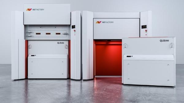 nouveau système d'impression 3D QLS 350 de NXT Factory
