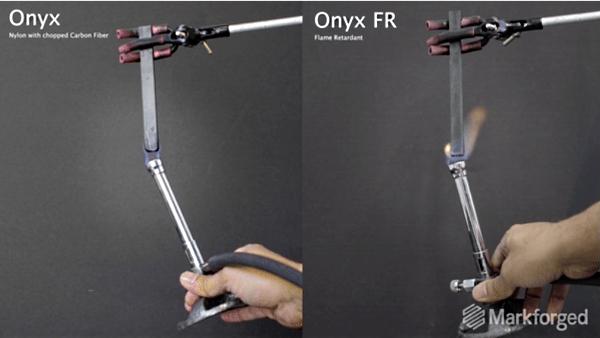 Quand Markforged rend l'impression 3D carbone résistante au feu