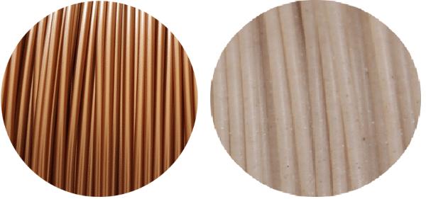 Filament PLA cuivre et moule