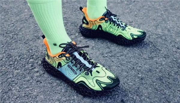 chaussure entièrement imprimée en 3D
