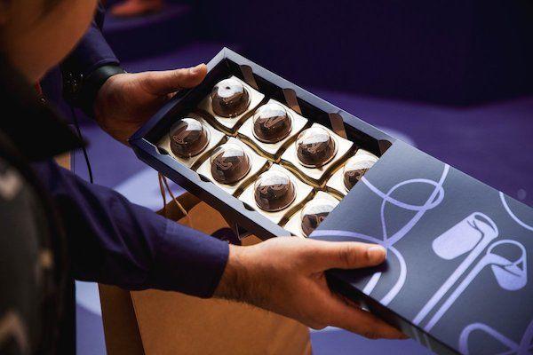 plaquette de chocolat imprimée en 3D