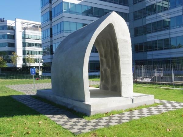 pavillon imprimé en 3D