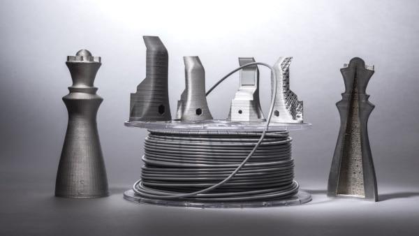 BASF lance un nouveau filament d'impression 3D métal avec 90 % d'acier