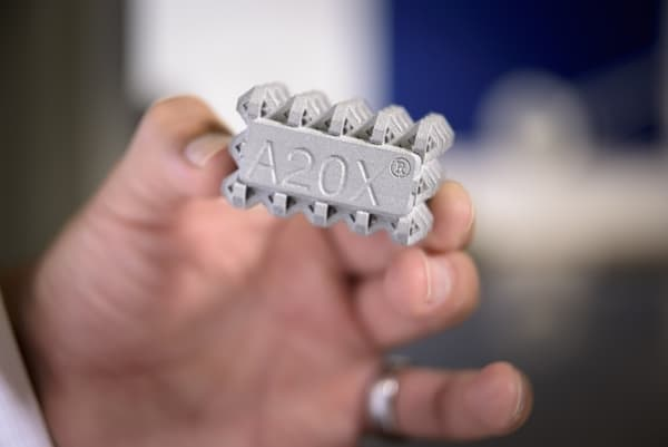 A20X : une poudre de fabrication additive aluminium parmi les plus résistantes du marché