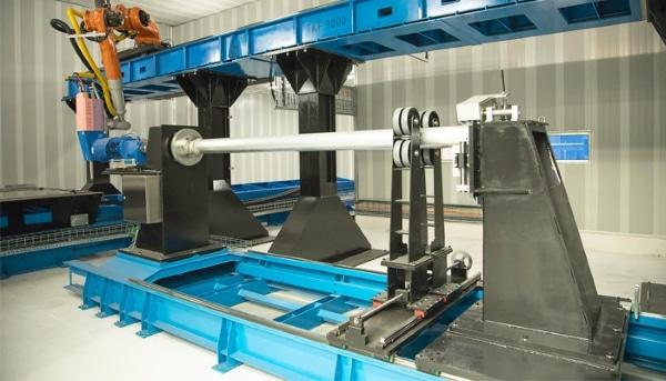 imprimante 3D TKF 9000 de Titomic