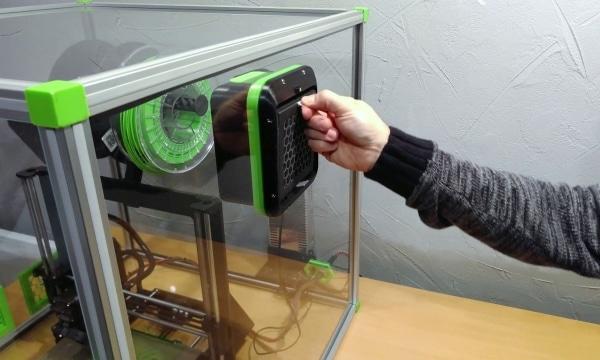 Rencontre avec Alveo3D et son système de filtration pour imprimante 3D de bureau