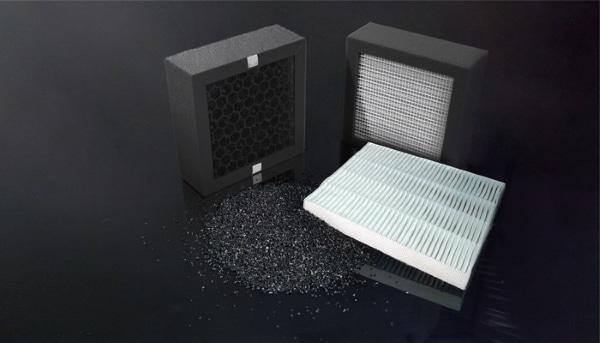 filtre charbon HEPA