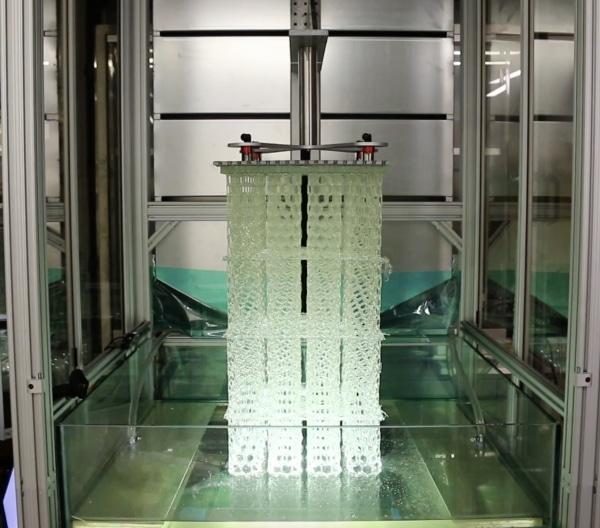 Une imprimante 3D SLA de 4 mètres avec une vitesse d'impression record