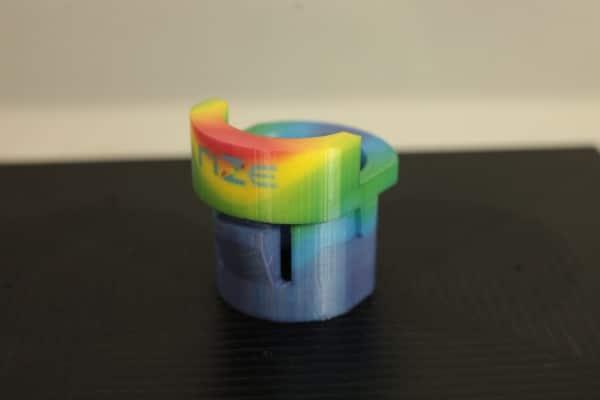 impression 3D couleur réalisée sur la Rize One