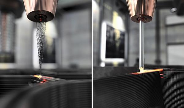 Meltio présente une nouvelle technologie d'impression 3D pour le fil et la poudre métallique