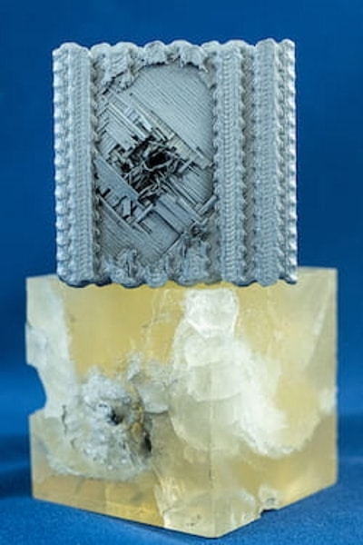 structure imprimée en 3D inspirée du tubulane