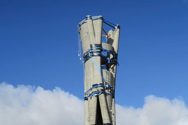 pylône fabriqué par impression 3D