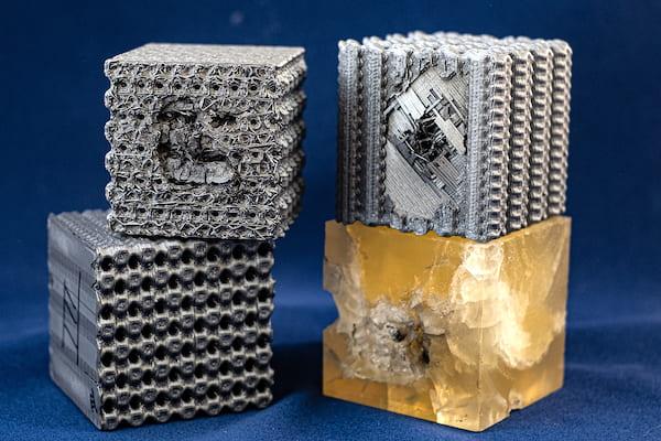 Des chercheurs mettent au point une structure imprimée en 3D à l'épreuve des balles