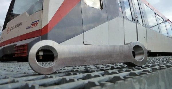 La première pièce de sécurité imprimée en 3D approuvée par le secteur ferroviaire