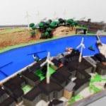 L'impression 3D couleur et le jeu Minecraft pour créer les villes durables de demain