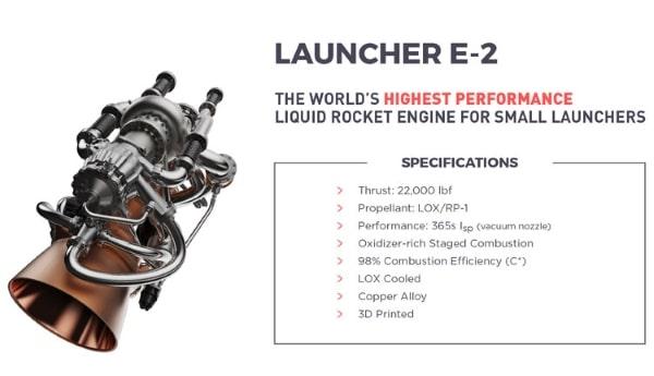 Moteur Launcher E-2