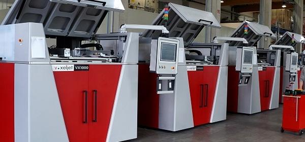 imprimantes 3D VoxelJet