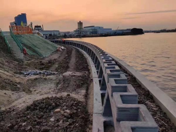 Winsun réalise un mur de soutènement imprimé en 3D de 500 m de long
