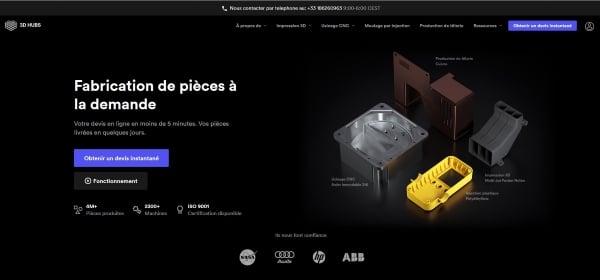 Rencontre avec 3D Hubs, la plate-forme d'impression 3D mondiale pour les professionnels