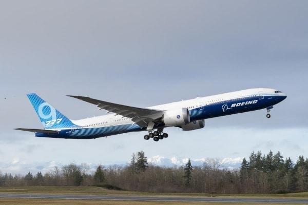 Le Boeing 777X s'envole avec plus de 300 pièces imprimées en 3D