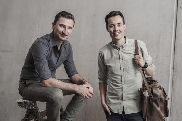 Bram de Zwart et Brian Garrett, les deux autres fondateurs de 3D Hubs