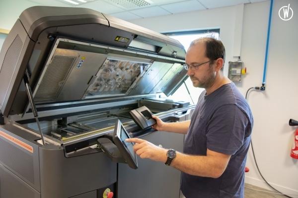 imprimante 3D HP Multijet Fusion