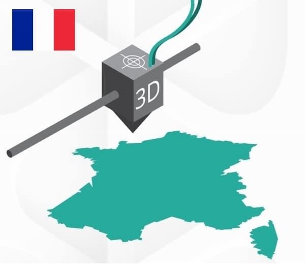 marché français de l'impression 3D