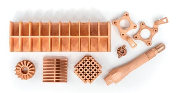 Markforged ajoute le cuivre pur à ses matériaux d'impression 3D