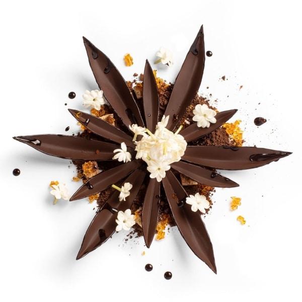 pétales de chocolat