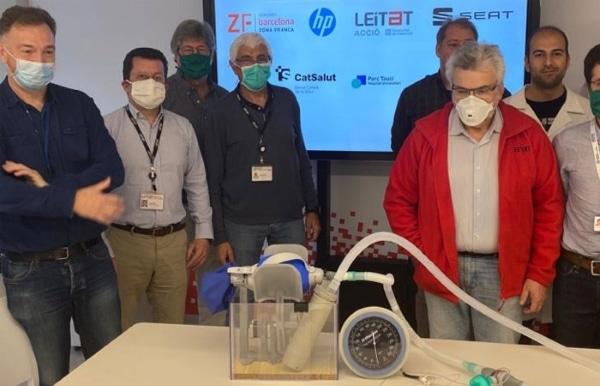 Covid-19 : le premier respirateur imprimé en 3D validé médicalement