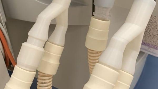 séparateurs de ventilateurs imprimés en 3D