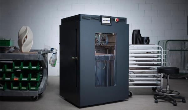 AON-M2 2020 : une imprimante 3D compatible avec une large gamme de matériaux techniques