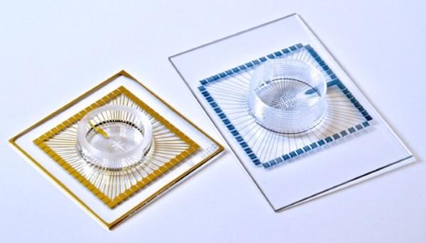 matrices multi-électrodes souples imprimées en 3D