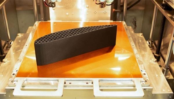 Impression réalisée avec Solvay KetaSpire® AM FILAMENT CF10 LS1