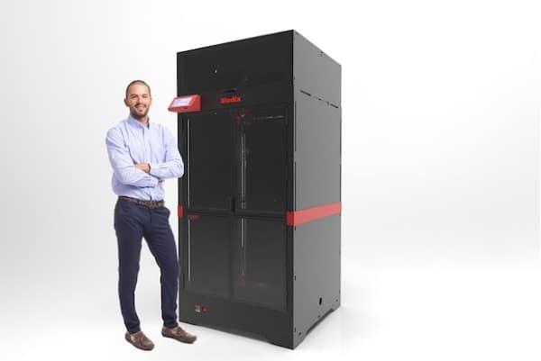 Modix lance une imprimante 3D pouvant imprimer des pièces jusqu'à 1,2 mètre de haut