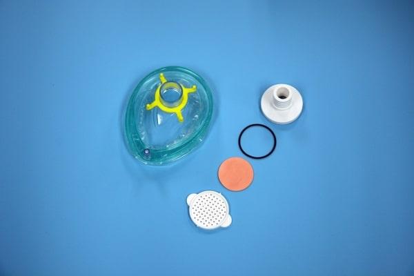 filtre pour masque respiratoire