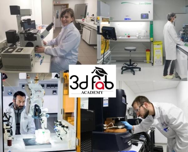 Rencontre avec la 3d.FAB Academy : un programme d'apprentissage complet autour de la bio-impression, du FDM et LDM