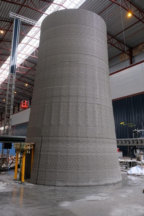 mât réalisé par fabrication additive