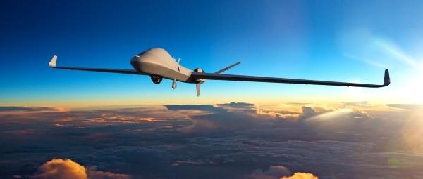 pièce de drone en métal imprimée en 3D