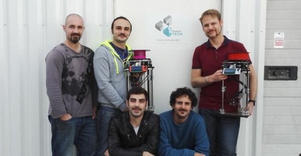 Romain Loubat, Franck Liguori, Guilhem Peres, Hugo Flye et Nicolas Boillot